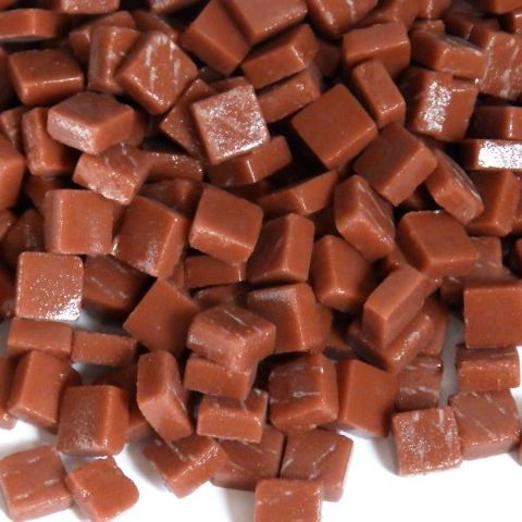 8mm Square Tiles - Caramel Matte - 50g
